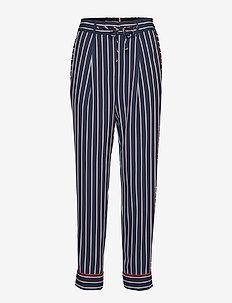 HOKU PANT - casual bukser - blazer stp / sky captain
