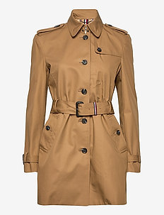 SEASONAL SINGLE BREA - trenchcoats - countryside khaki