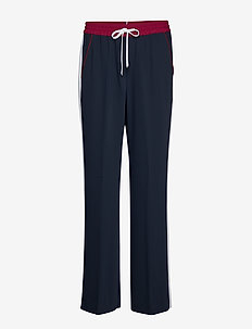 FLORENTINA PANT - wide leg trousers - sky captain