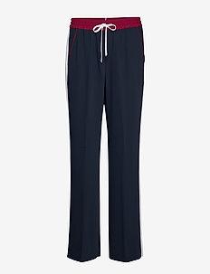 FLORENTINA PANT - bukser med brede ben - sky captain