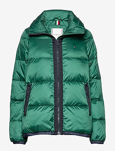 NAOMI RECYCLED DOWN JKT - padded jackets - rain forest