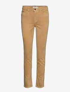 ROME STRAIGHT RW MAYA - jeans droites - tannin