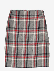 JADE MINI SKIRT - jupes crayon - global check