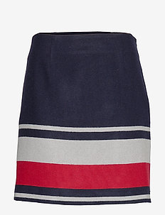 FLUFFY MINI SKIRT - lyhyet - blanket stp