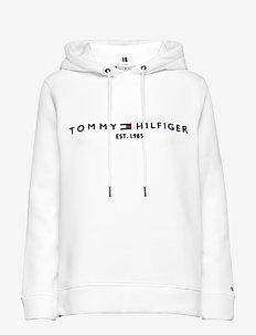TH ESS HILFIGER HOOD - BRIGHT WHITE