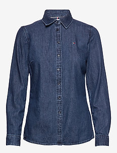 SHIRT LS W2 EVE - denim shirts - eve