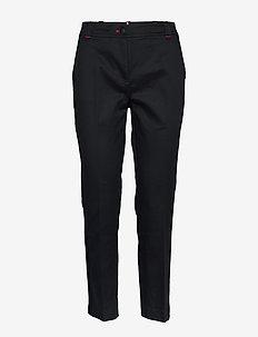 LEILA T5 PANT - broeken med straight ben - desert sky