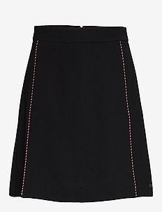 TATTIANA MINI SKIRT - jupes courtes - black