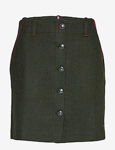 LUITGARD MINI SKIRT - jupes courtes - camo green