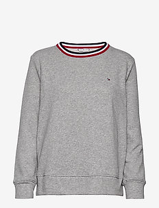 TH ESSENTIAL C-NK SWEATSHIRT LS - sweaters - light grey heather