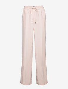 FIFI PANT - wide leg trousers - pale pink