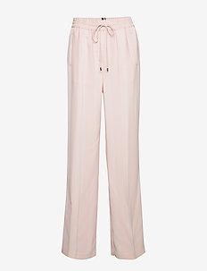 FIFI PANT - bukser med brede ben - pale pink