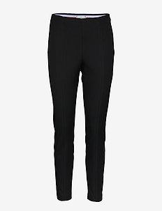 FLEUR ANKLE LEGGING - leggings - black