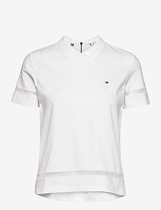 TH COOL VERA RELAXED - polohemden - white