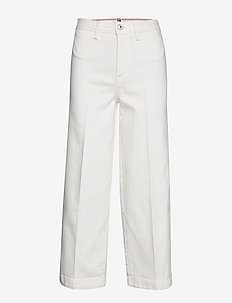 BELL BOTTOM HW C CLR - flared jeans - ivory
