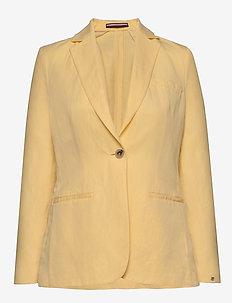 LINEN TENCEL SB BLAZER - casual blazers - sunray
