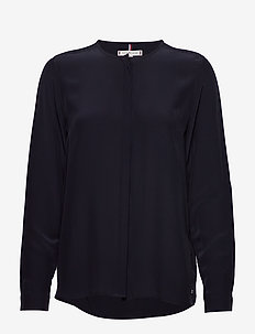 LOTTIE BLOUSE LS - blouses med lange mouwen - desert sky