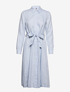 TH ESSENTIAL PENELOP - robes chemises - breezy blue