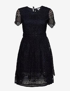 OC PECHE DRESS SS - short dresses - desert sky