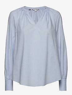 LACIE BLOUSE LS - langærmede bluser - breezy blue