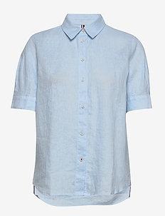 TH ESSENTIAL PENELOP - kortærmede skjorter - breezy blue