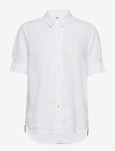 TH ESSENTIAL PENELOPE SHIRT SS - WHITE