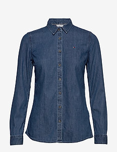 SHIRT LS W2 RUTH - denimskjorter - ruth