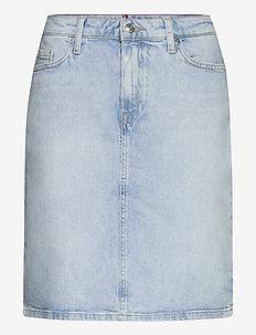 ROME STRAIGHT HW SKIRT LOTA - jupes en jeans - lota