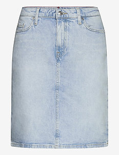 ROME STRAIGHT HW SKIRT LOTA - jeansowe spódnice - lota