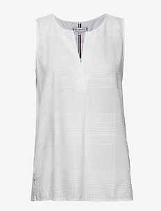 RELLA TOP NS - blouses sans manches - th optic white