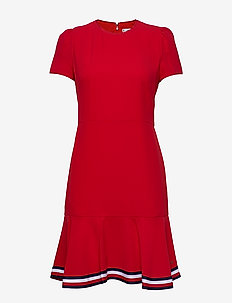 SKATER DRESS SS - korte kjoler - primary red