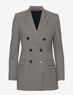 POLYVISCOSE DB BLAZER - blazers - cw check black big scale