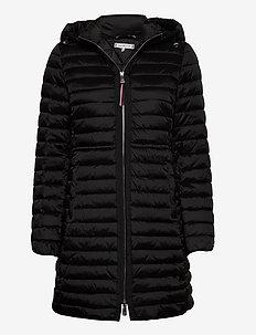 JADE  LW ECO FILL COAT - padded coats - black