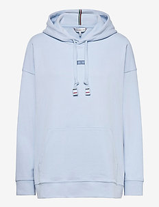 CINDY RELAXED HOODIE LS - hoodies - polished blue