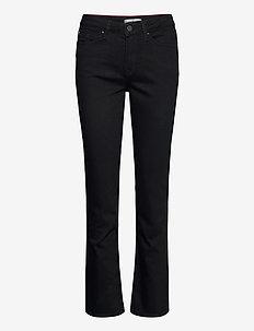 ROME STRAIGHT RW BLACK - bootcut jeans - black