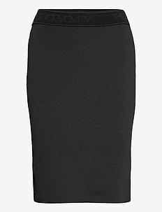 TIRNA PENCIL SKIRT - midi skirts - black