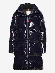 HIGH GLOSS DOWN PUFFER COAT - gewatteerde jassen - desert sky