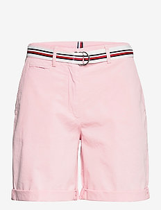 COTTON TENCEL CHINO RW SHORT - short chino - light pink