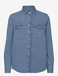 RELAXED SHIRT JUL LS - jeanshemden - jul