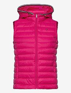 TH ESS LW DOWN VEST - puffer vests - bright jewel