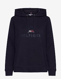 INJ TIARA HOODIE LS - sweatshirts & hoodies - desert sky