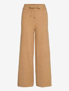 TH FLEX WIDE LEG PANT - uitlopende broeken - countryside khaki