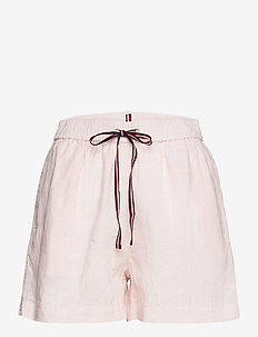 ABO LINEN SHORT - shorts casual - light pink