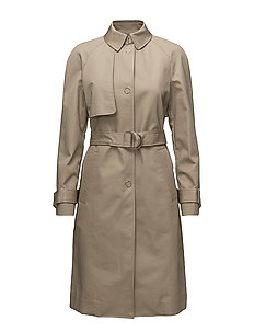 IRVING BONDED TRENCH - TAN