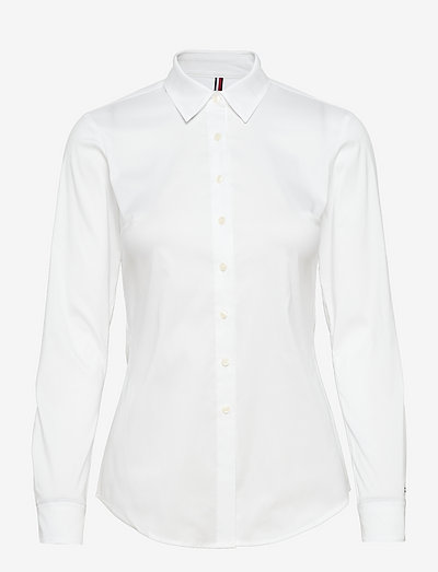 HERITAGE SLIM FIT SHIRT - chemises à manches longues - classic white
