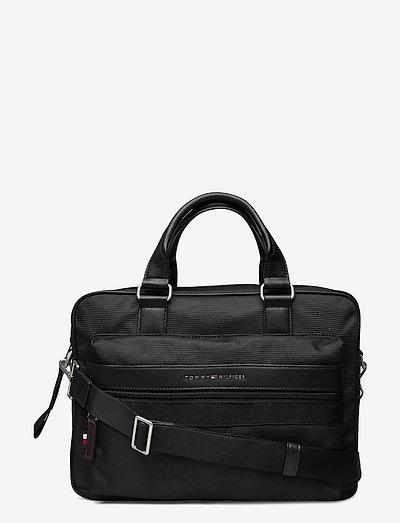 ELEVATED NYLON COMPUTER BAG - sacs pour l'ordinateur - black