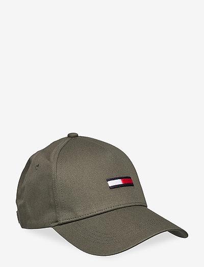 TJM FLAG CAP - czapki - dark olive