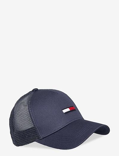 TJM FLAG TRUCKER CAP - bonnets & casquettes - twilight navy