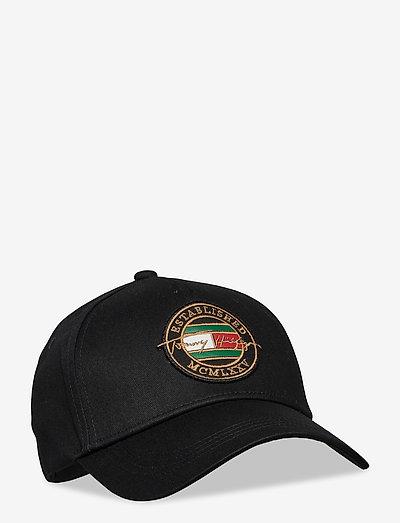 SIGNATURE PATCH CAP - bonnets & casquettes - black
