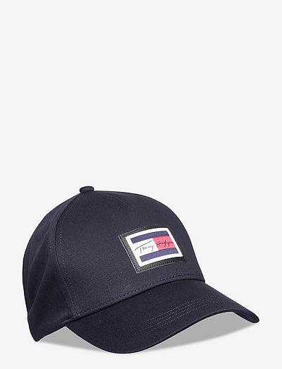 SIGNATURE FLAG CAP - czapki - desert sky